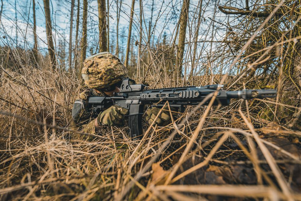 sniper for article murphys laws of combat