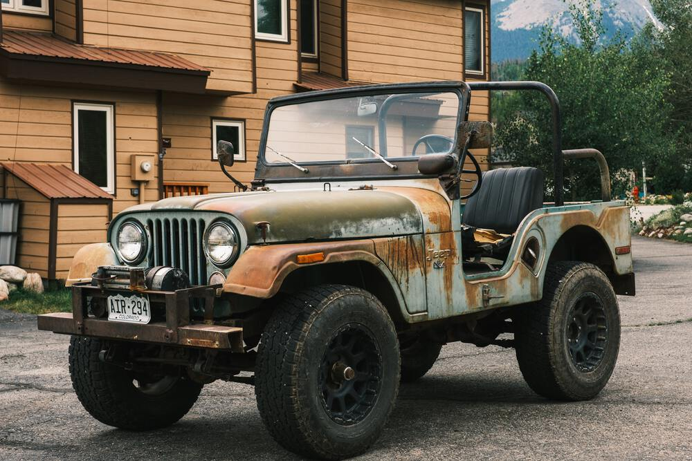 jeep for article murphys law for 4x4